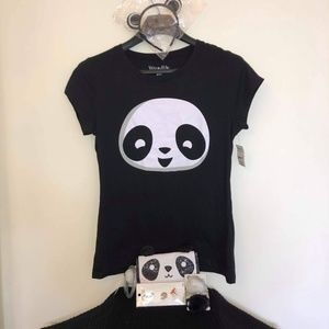 Panda Tee-shirt and Accessories